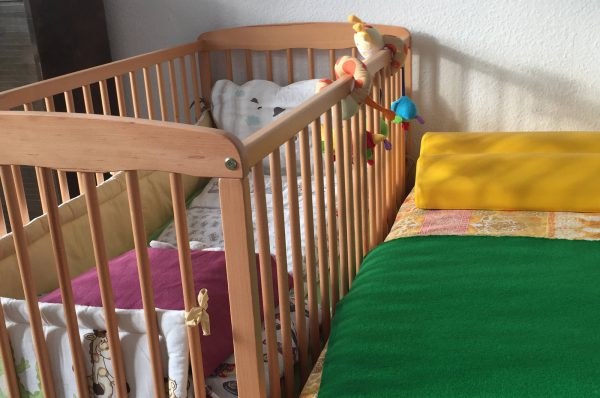 Schlafzimmer ~ Kindertagespflege Momela ~ Tagesmutter in Saarbrücken und Saarpfalz